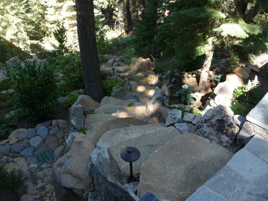 Rock Stairway Design